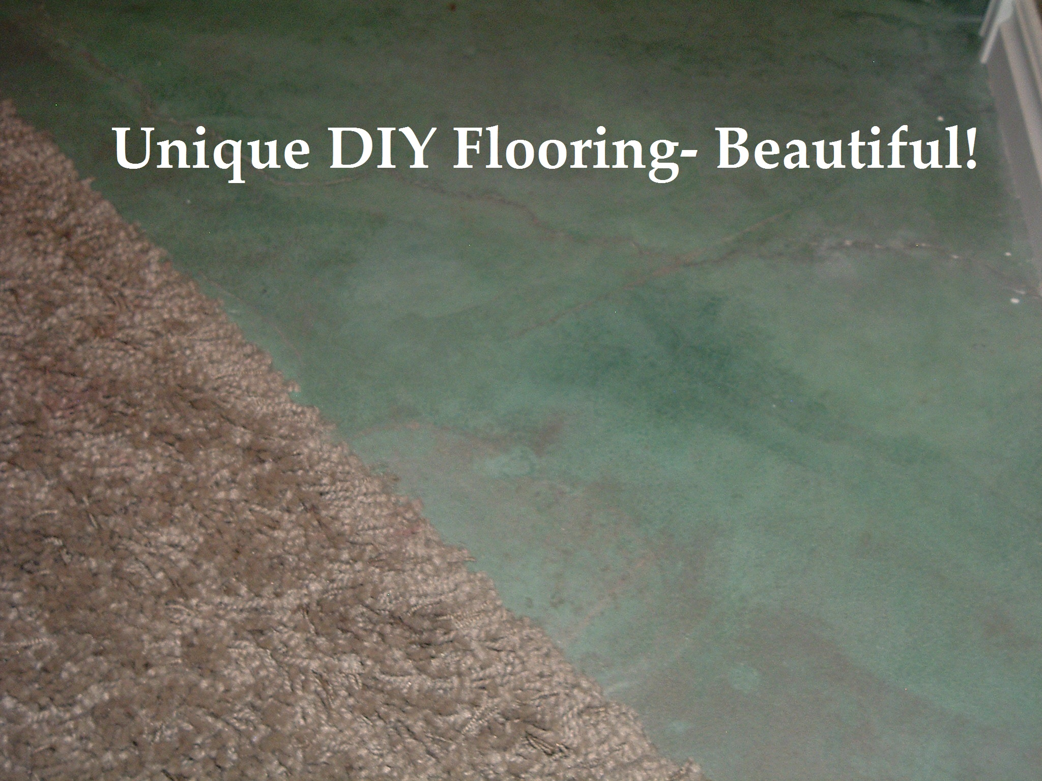 unique diy flooring option beautiful