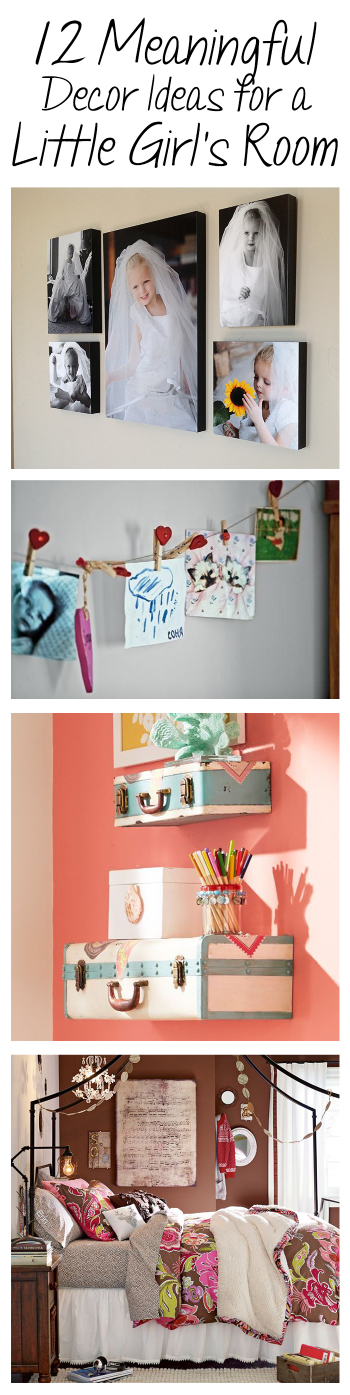 12 Meaningful Decor Ideas for a Little Girl's Room
