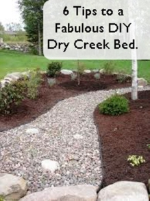 6 Tips to a Fabulous Dry Creek Bed