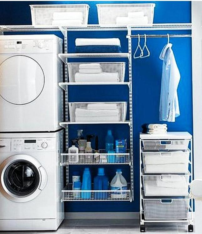 Small Laundry Room » How to Make the Most of a Small Laundry Room