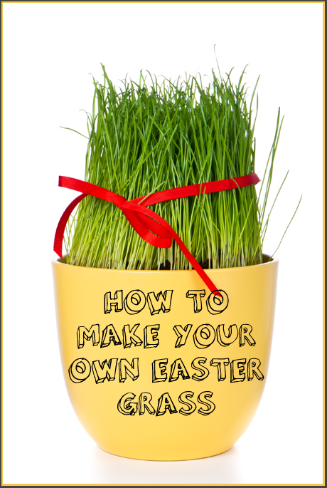 How to Make Your Own Easter Grass