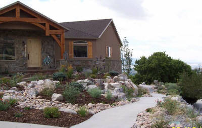 26 gorgeous 0 scape landscaping ideas for Dry scape landscaping