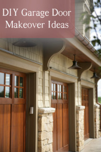 DIY Garage Door Makeover Ideas (1)