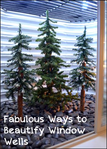 Fabulous Ways to Beautify Window Wells