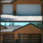 garage doors before and after 2