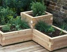 planter boxes corner