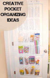 Creative Pocket Organizing Ideas