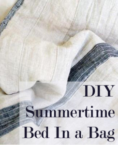 DIY Summertime Bed in a Bag (1)