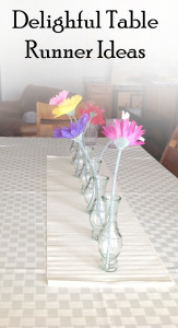 Delightful Table Runner Ideas