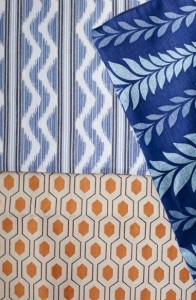 Decorating with patterns