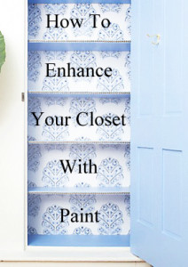 How to Enhance your Closet with Paint