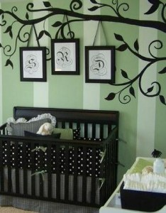 decal tree black nursery