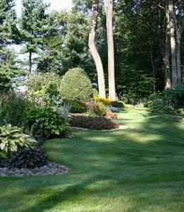 stuff vs space formal garden