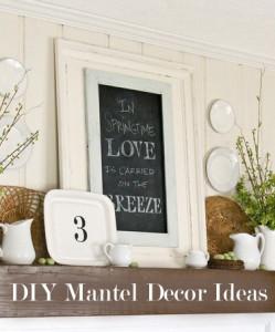 DIY Mantel Decor Ideas (1)