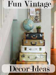 fun vintage decor ideas