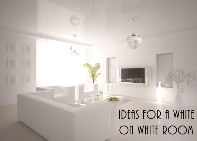 Beautiful White On White Decor Ideas