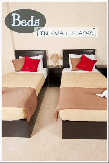 Beds In Small Places - small pin
