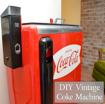 DIY Vintage Coke Machine - New