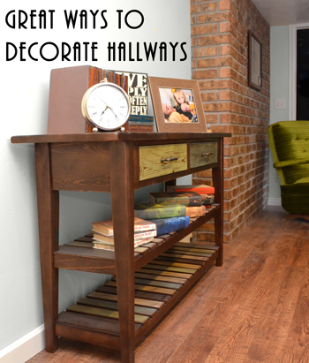 Great Ways to Decorate Hallways