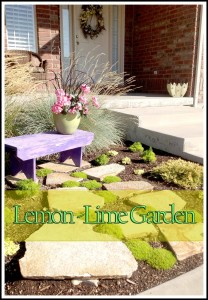 Lemon-Lime Garden Space I LOVE!!