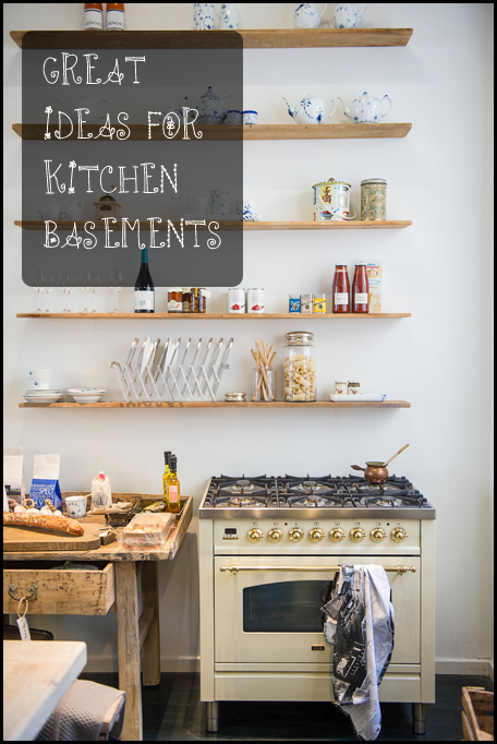 Great Ideas for Basement Kitchens