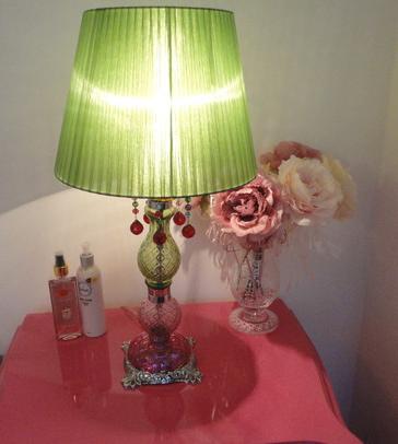 lampshades green