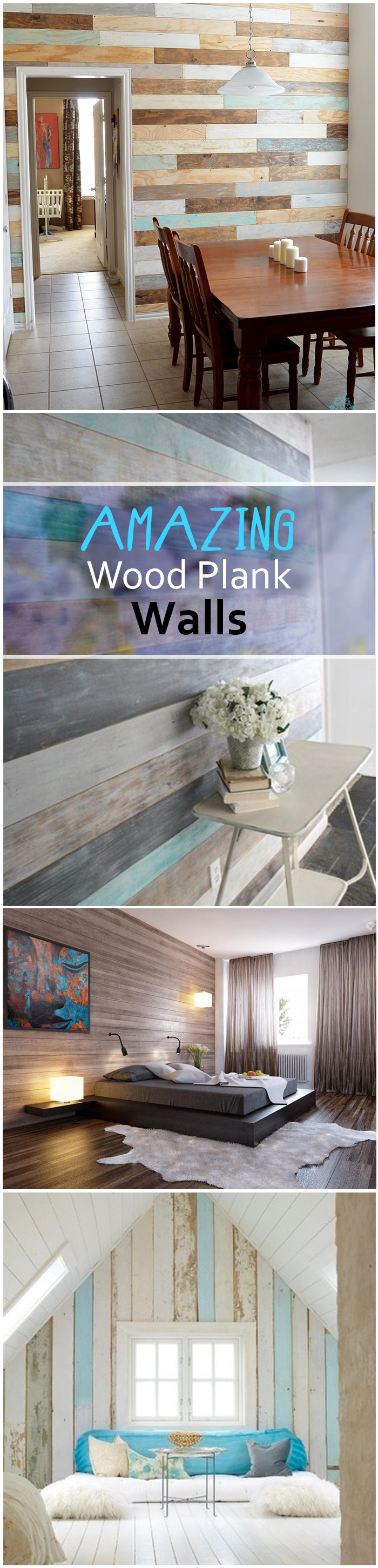 Amazing Wood Plank Walls