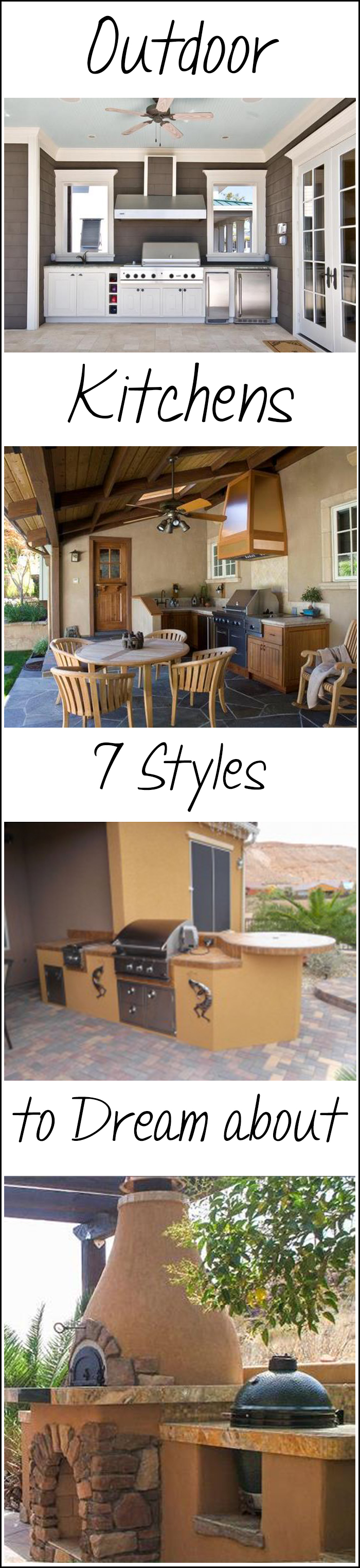 Outdoor Kitchens- 7 Styles to Dream About